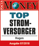 Siegel FocusMoney-Top-Stromversorger