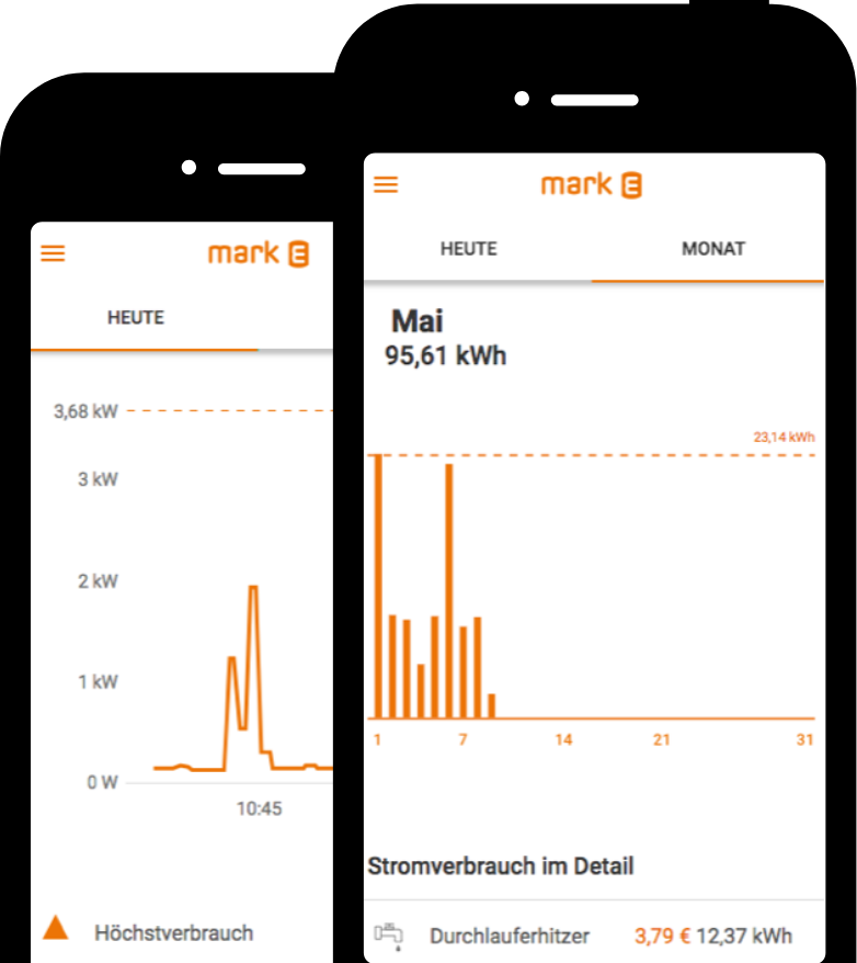 Landingpage Digital Strom Smartphone