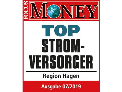 Focus Money bescheinig Mark E Top Stromversorger in Hagen zu sein