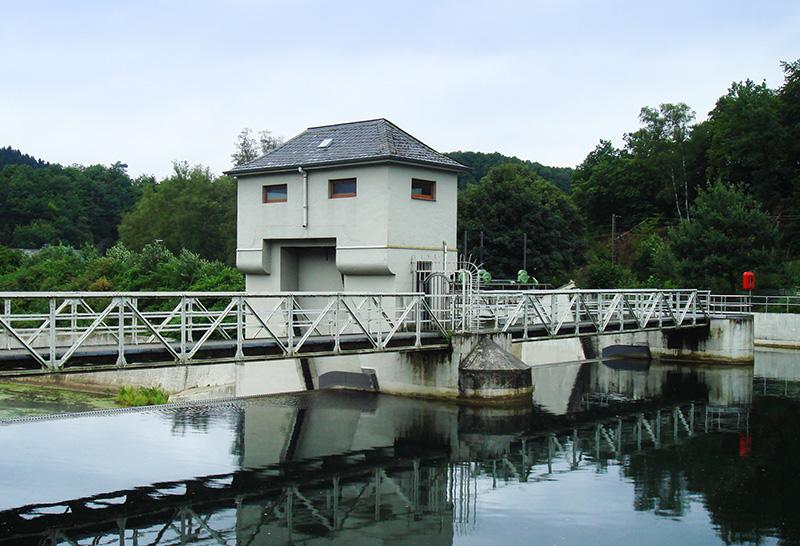 Ökostrom aus den Mark E Laufwasserkraftwerken an der Lenne